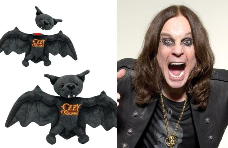 Ozzy bat toy