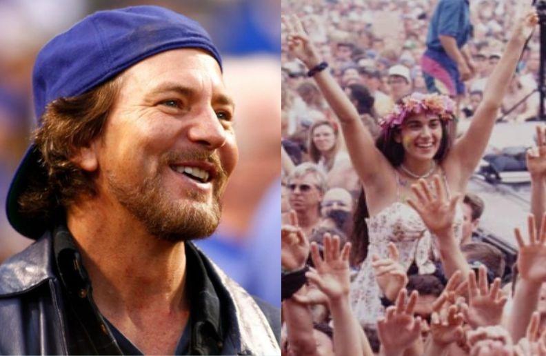 Pearl Jam Woodstock
