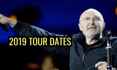 Phil Collins 2019 tour dates