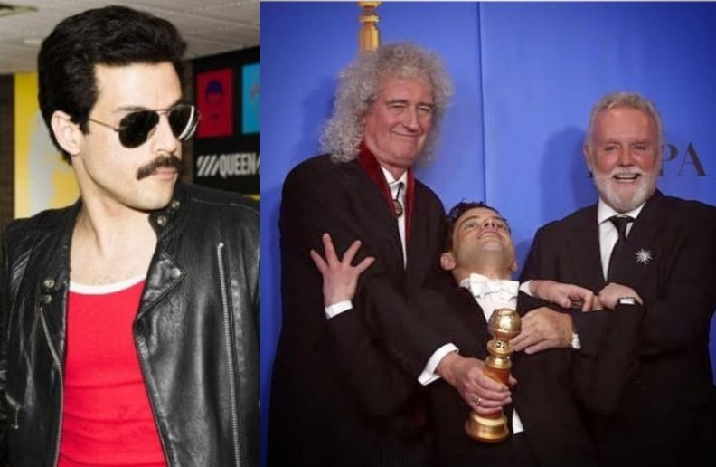 Queen band Golden Globe