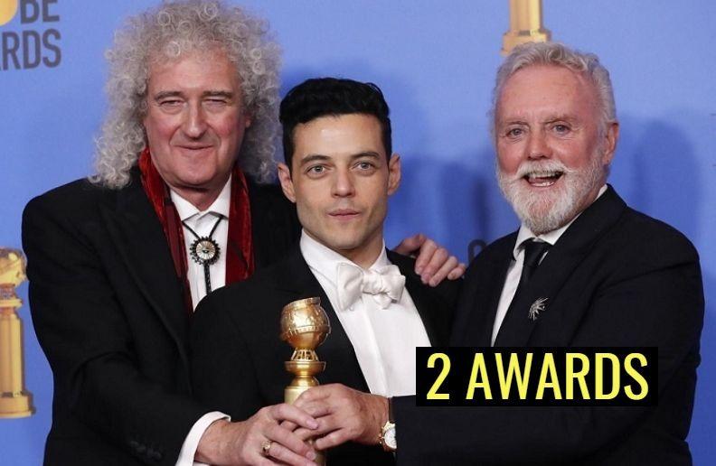 Queen golden globe award
