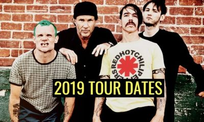 Red Hot Chilli Peppers 2019 tour dates