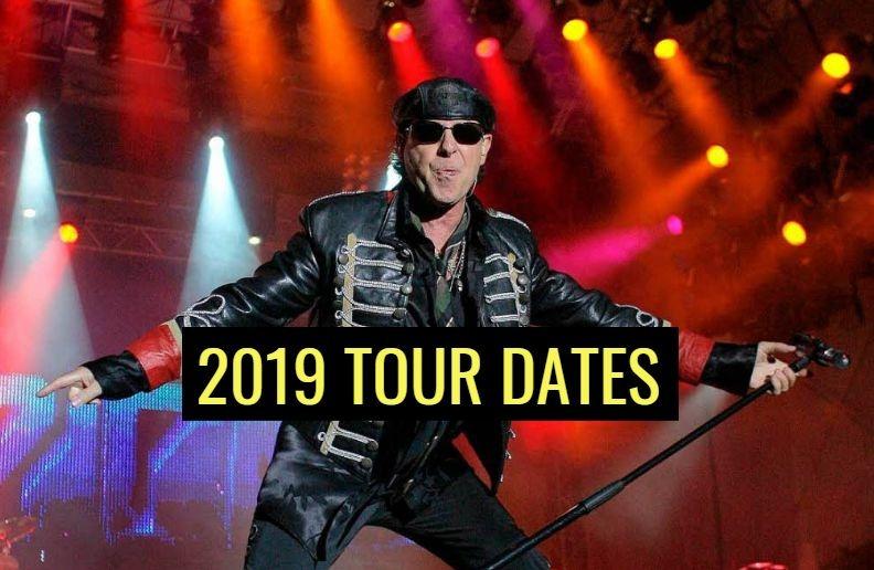 Scorpions 2019 tour dates
