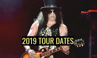 Slash 2019 tour dates