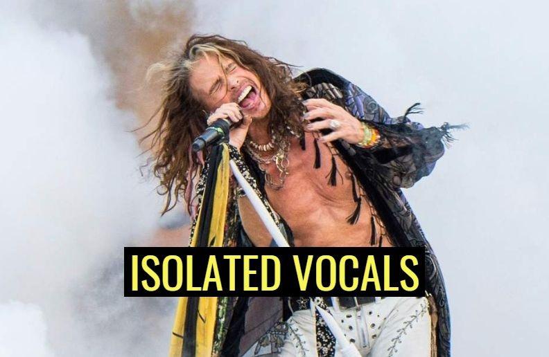 Steven Tyler isolated vocals