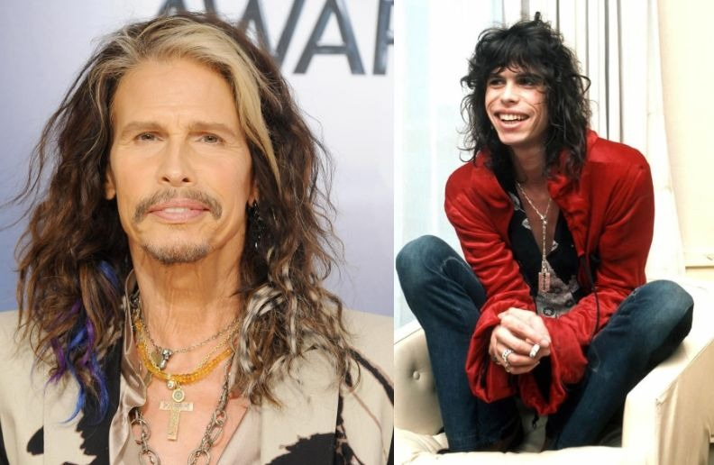 Steven Tyler old young