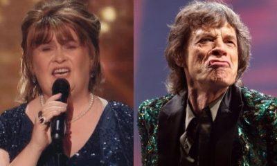 Susan Boyle Mick Jagger