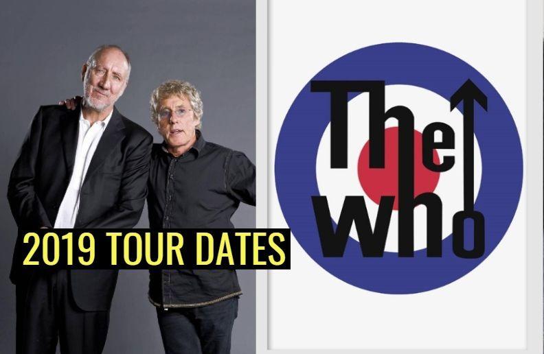 The Who 2019 tour dates