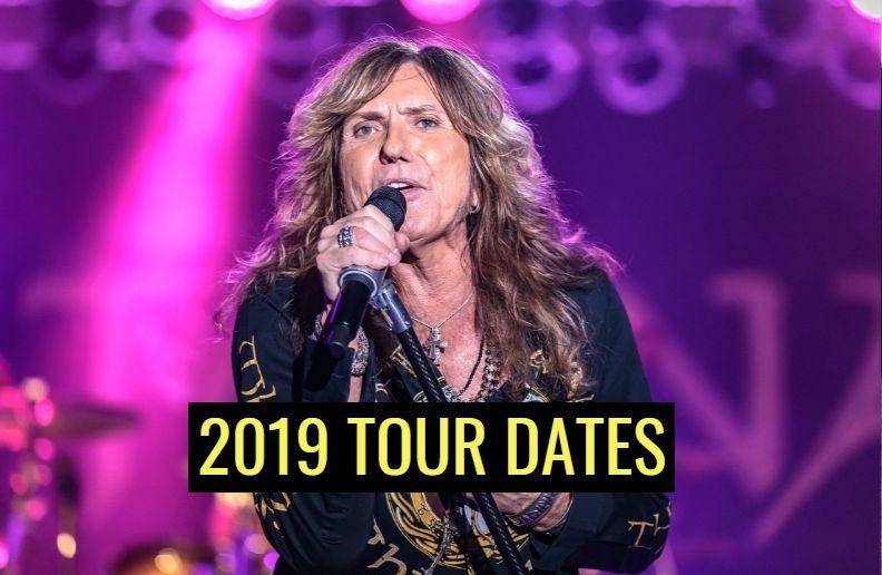 Whitesnake 2019 tour dates