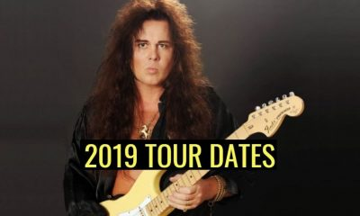 Yngwie Malmsteen 2019 tour dates