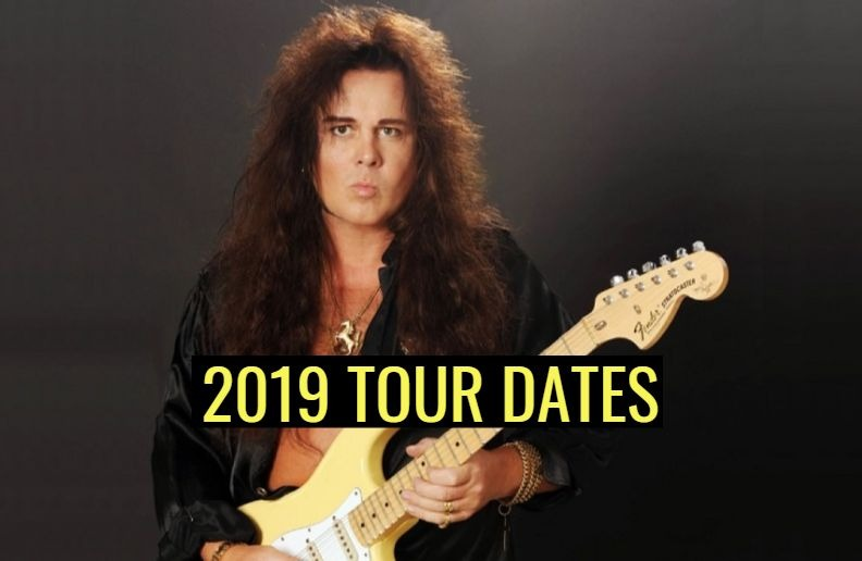 Yngwie Malmsteen 2019 tour dates