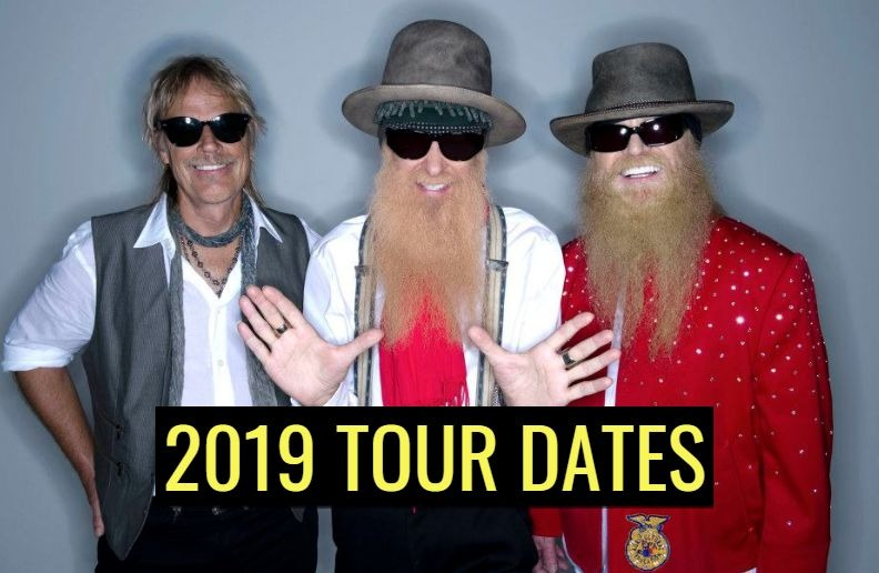 ZZ top 2019 tour dates