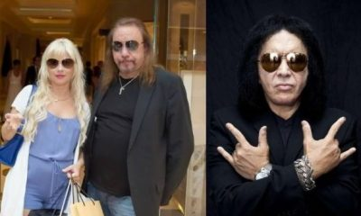 Ace Frehley wife Gene Simmons