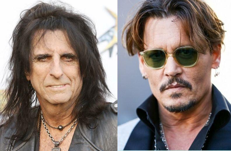 Alice Cooper Johnny Depp