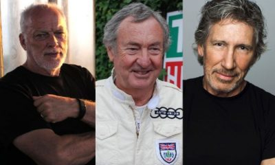 David Gilmour Nick Mason Roger Waters