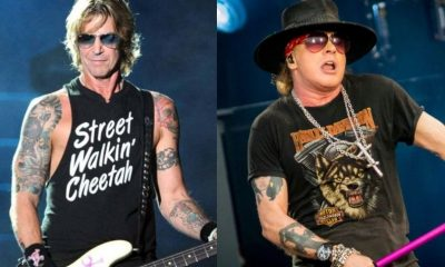 Duff McKagan Axl Rose