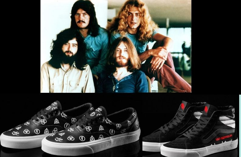 Led Zeppelin Vans