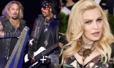 Motley Crue Madonna