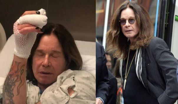 Ozzy Osbourne hospitalized