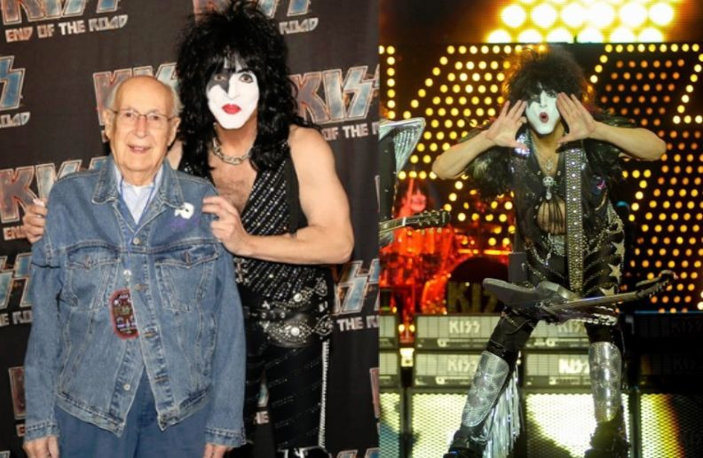 Paul Stanley and Father