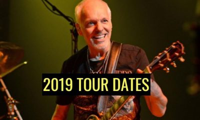 Peter Frampton Farewelll tour dates 2019