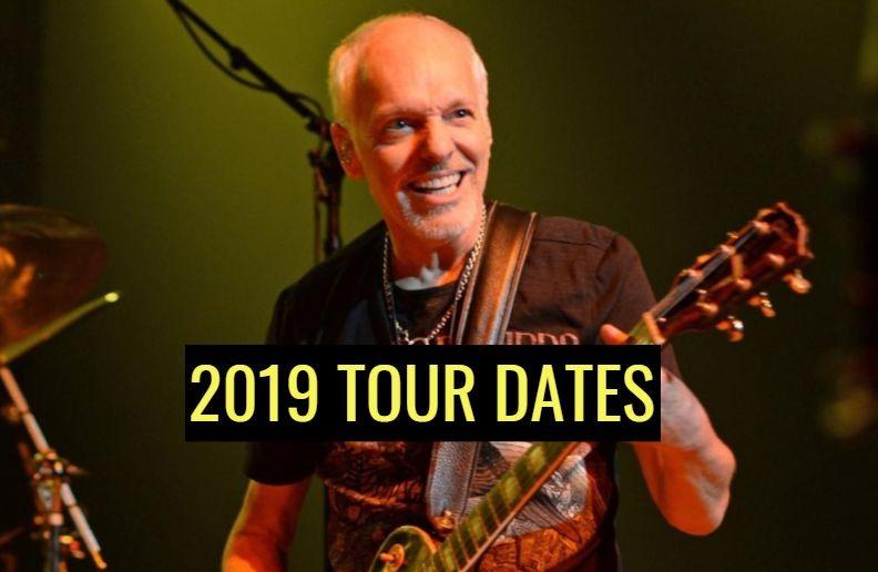 Peter Frampton Farewelll tour dates 2019