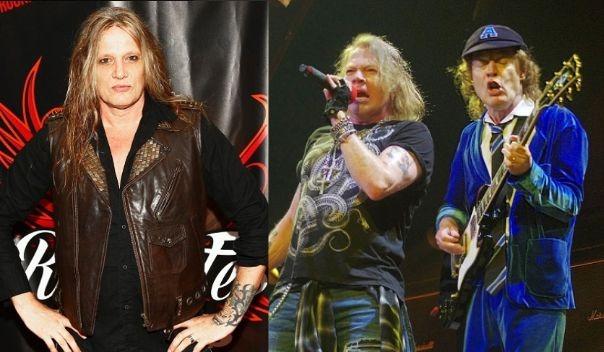 Sebastian Bach insinuates that Axl Rose is still on AC/DC