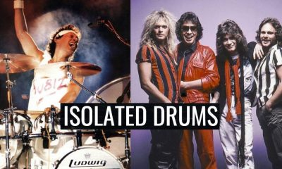 Alex Van Halen Isolated Drums