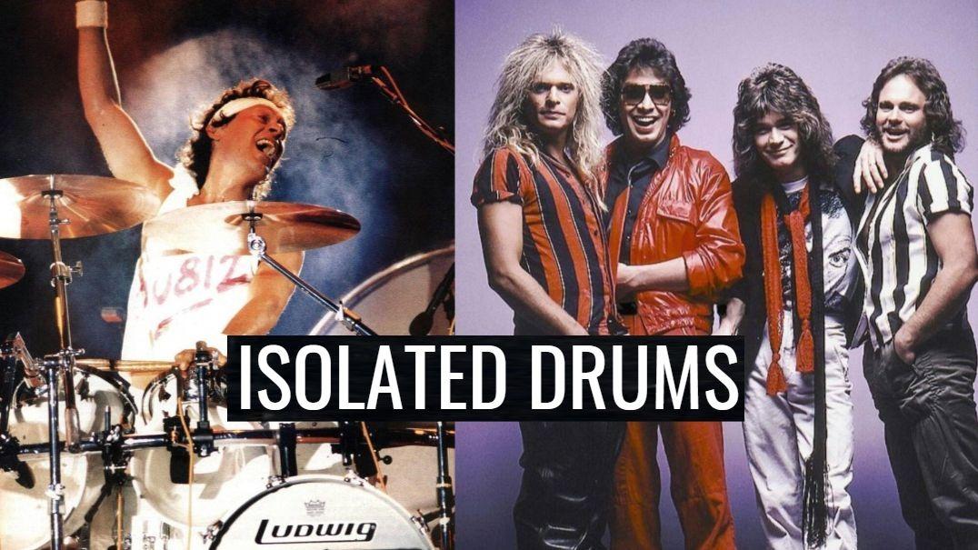 Alex Van Halen Isolated Drums