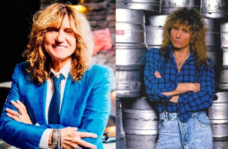 David Coverdale now and then