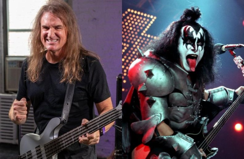 David Ellefson Gene Simmons