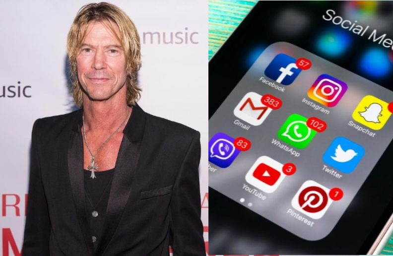 Duff Mckagan social media