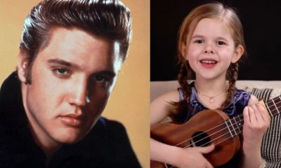 Elvis Presley cover little girl