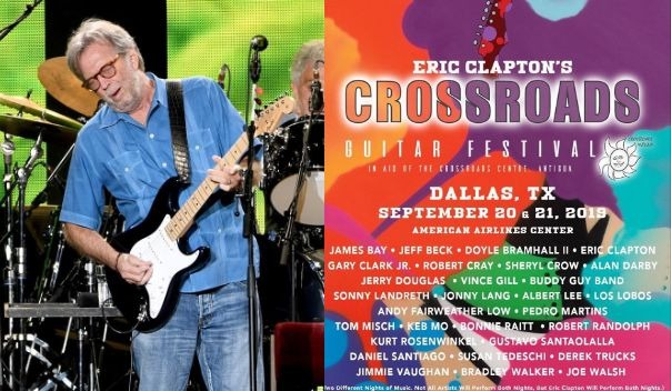 Eric Clapton crossroads 2019