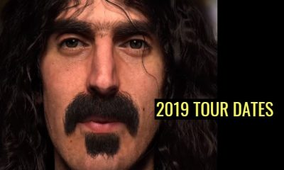 Frank Zappa 2019 tour dates