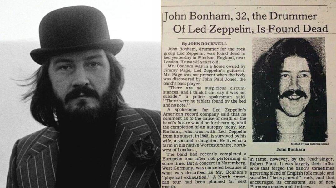 John Bonham death