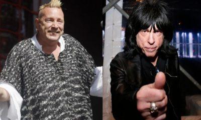 Johnny Rotten Marky Ramone