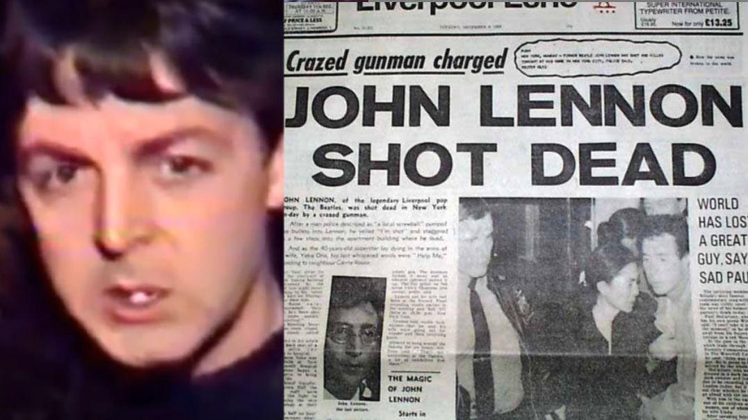 Paul McCartney John Lennon deathPaul McCartney John Lennon death