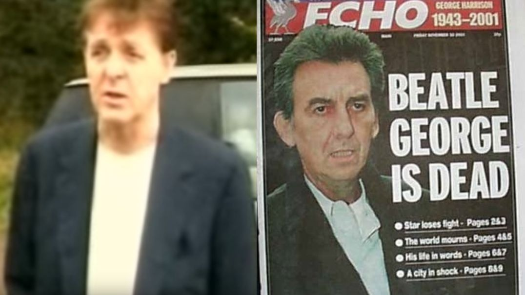 See Paul McCartney reaction to George Harrison's death