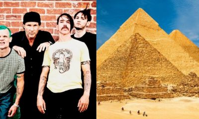 Red Hot Chilli Peppers Pyramids