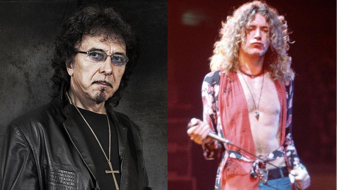 Tony Iommi Robert Plant