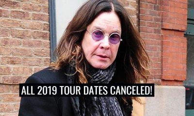 2019 Ozzy Osbourne tour canceled