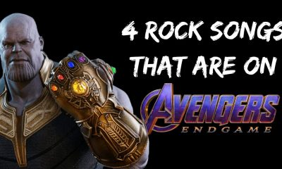 4 ROCK SONGS THAT ARE ON AVENGERS ENDGAME
