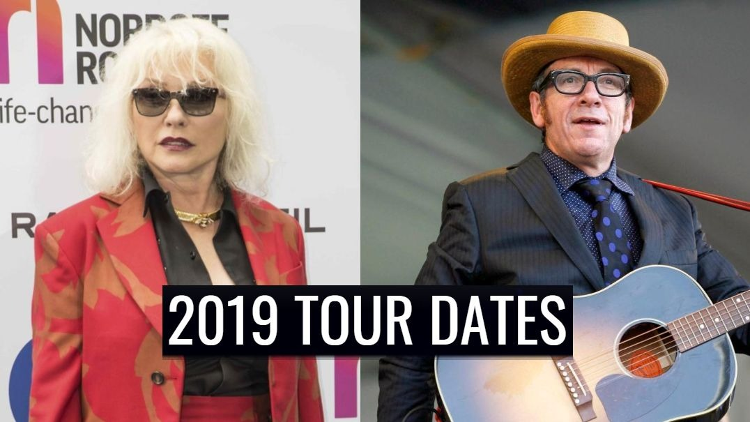 Elvis Costello and Blondie will tour together (See the dates)