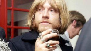 Brian Jones drinking