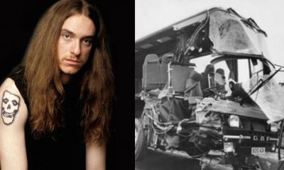 Cliff Burton Death