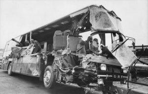 Cliff Burton tour bus death