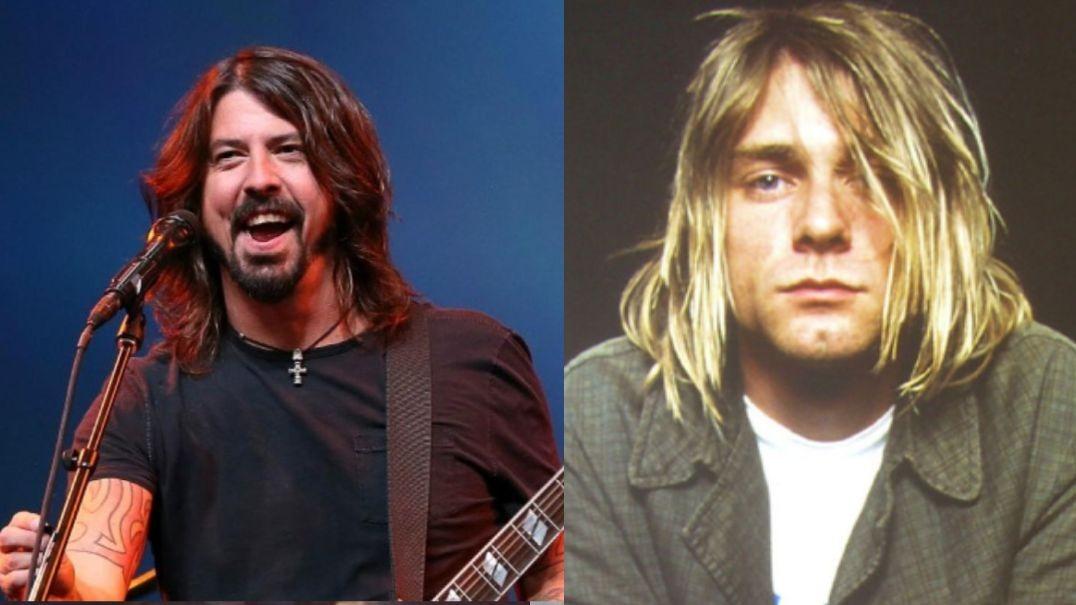 Dave Grohl Kurt Cobain