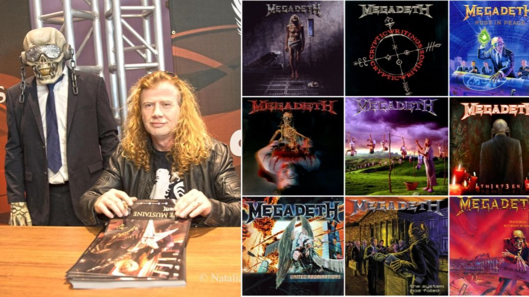 Dave Mustaine Megadeth Albums