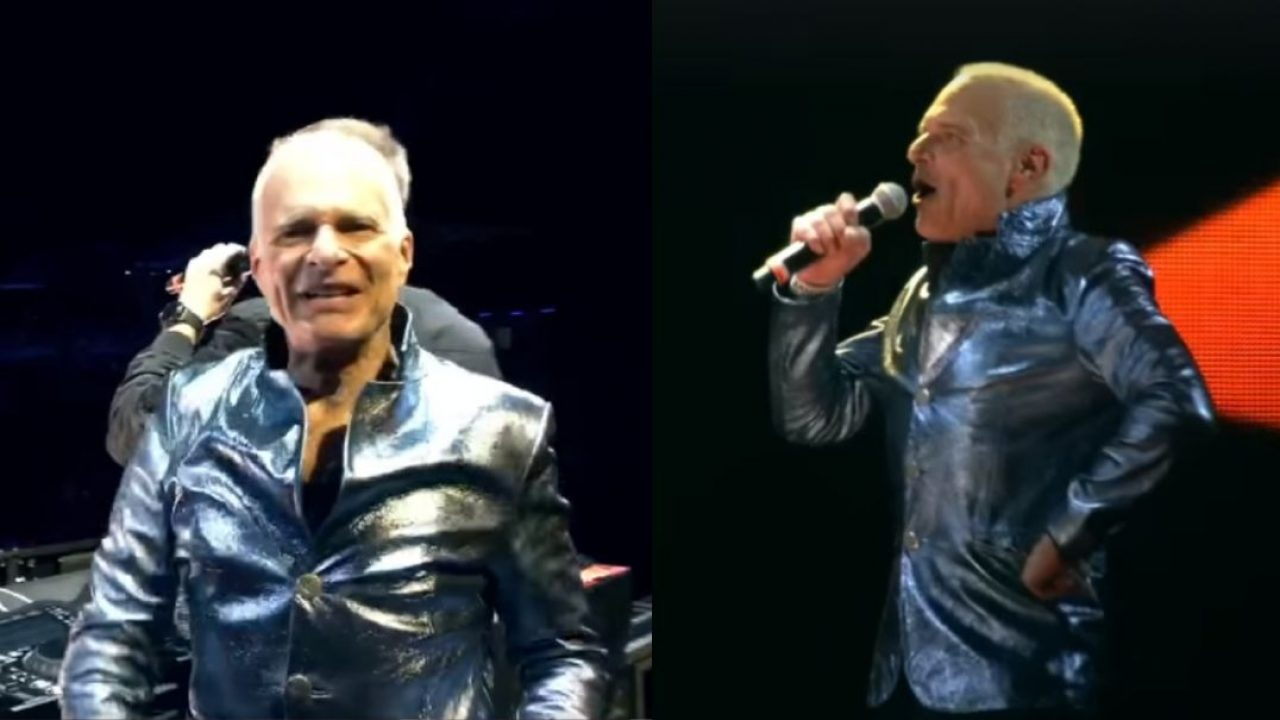 Watch David Lee Roth performing a trance version of the